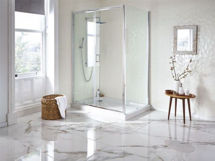 Mimosa Marble Tiles Источник фото: Walls and Floors