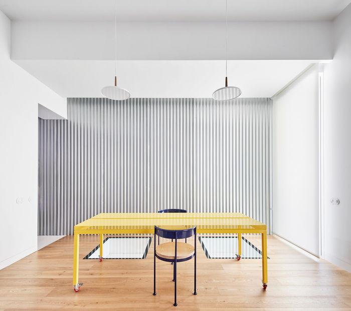 Дизайн квартиры Lucas y Hernández-Gil . Фото: José Hevia.