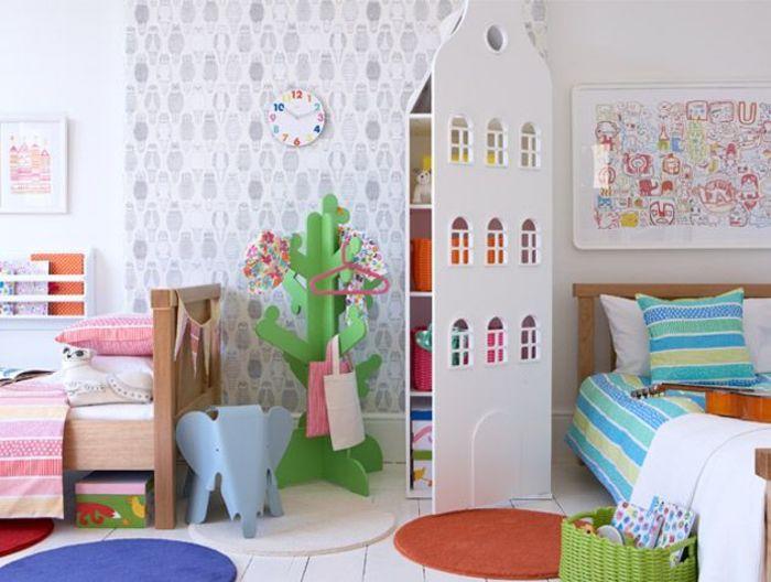 Детский интерьер для девочки и мальчика. Фото: Mark Scott