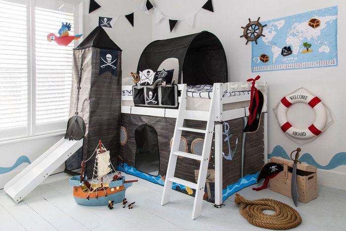 Пиратская комната для мальчика. Источник фото: Lifetime.