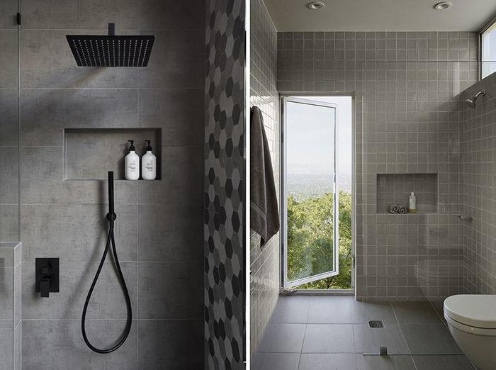 Фото слева: GIA renovations. Фото: Martina Gemmola. Справа: Burks Toma Architects, Schwartz and Architecture. Фото: Matthew Millman