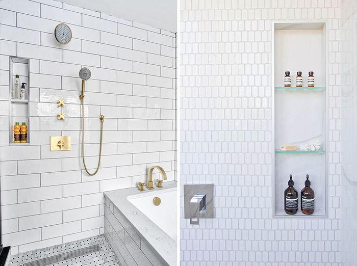 Фото слева: KraftMaster Renovations. Дизайн: Kim Platt – Kitchen Intuitions. Фото: Chris Veith. Справа: дизайнеры ONE SEED Architecture + Interiors и Myriam Freedman Designs. Фото: Janis Nicolay.