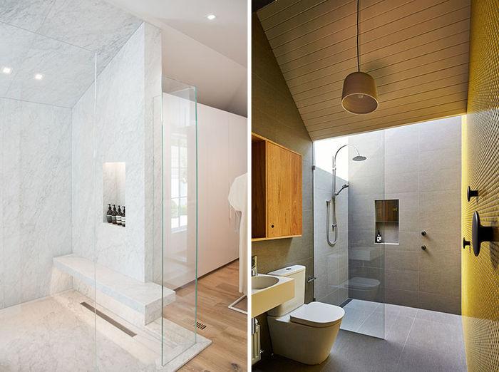 Фото слева: LA Closet Design. Справа: MAKE Architecture. Фото: Peter Bennetts