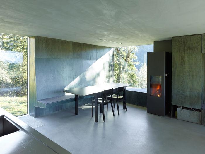 Дизайн: Savioz Fabrizzi Architectes. Фото:© Thomas Jantscher