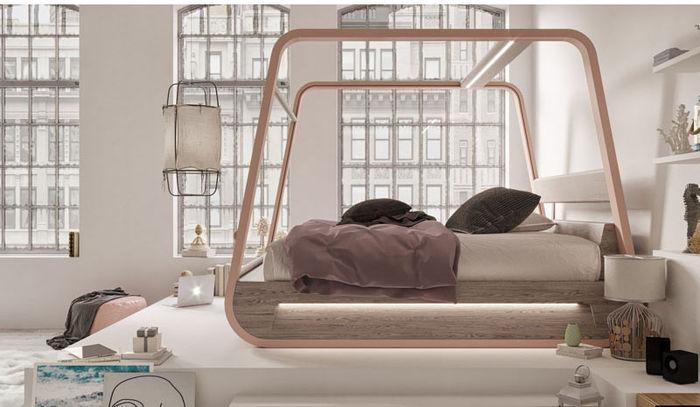 Кровать HiBed. Дизайн: Fabio Vinella
