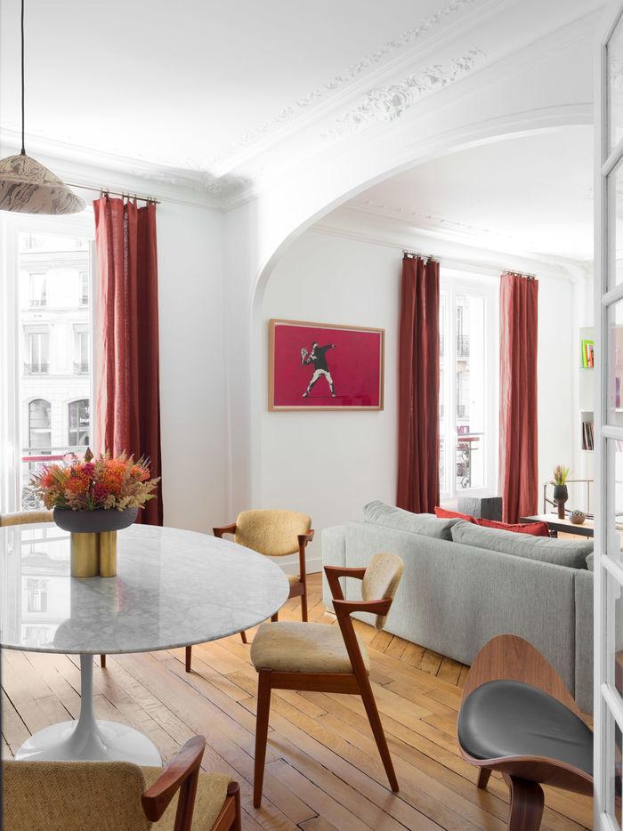 Апартаменты Paris Marais от Sophie Dries. Фото автор проекта.