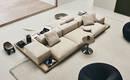 Новая модульная система диванов от B & B Italia