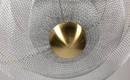 Свет мечты: купольная люстра из проволочной сетки