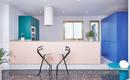 Ярко, броско, эффектно: удобная квартира в стиле диско