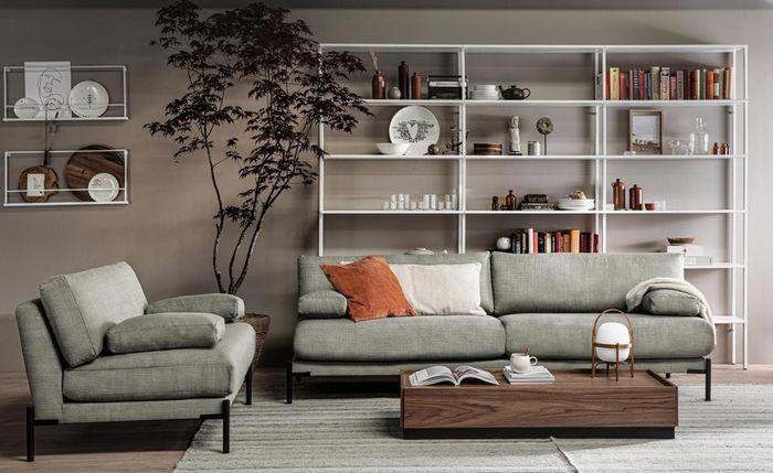 Легкий книжный шкаф. Фото: Woood