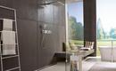 Открытый душ в ванной комнате. Преимущества и недостатки