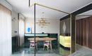 Геометрия и мрамор: миланская квартира с фактурными акцентами