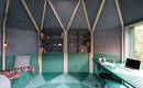 Комната-артишок: необычное и простое сооружение для сада