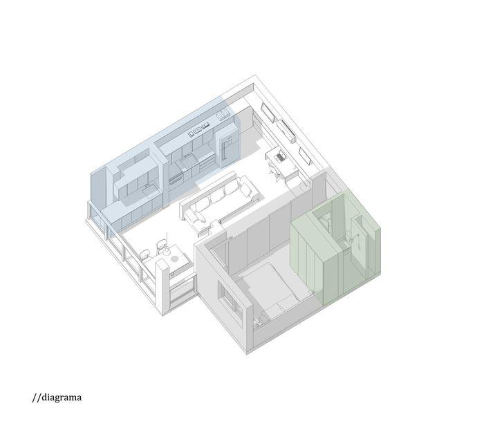 Дизайн: студия Estúdio BRA. Фото: Maíra Acayaba