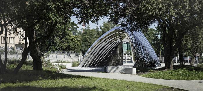 польский дизайнер Оскар Зиета представил павильон NAWA