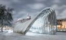 Стальная арка – новый культурный символ связи на польском острове