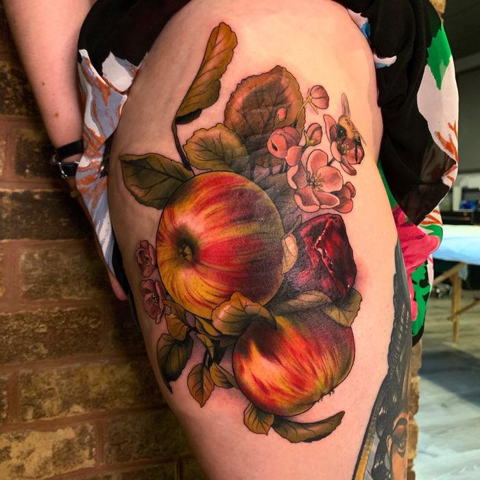 Художница-татуировщица Маккала Роуз (Makkala Rose)