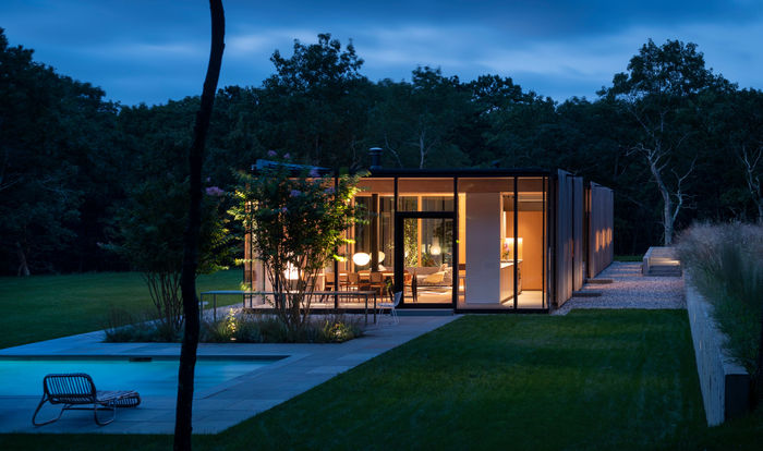 Архитектура: Jerome Engelking. Фото: Nic Lehoux