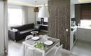 Идеальная столовая на границе кухни и гостиной