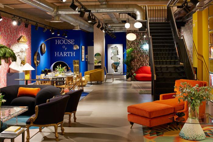 Лондонский онлайн магазин мебели и предметов искусства Harth
