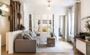 Милая парижская квартира с уютным дизайном