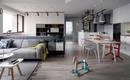 Уют по-скандинавски: кухня 10 кв. м для семейных встреч