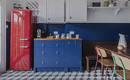 Синие кухни: 7 вдохновляющих реальных пространств