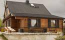 100-летняя деревянная хижина превращена в современный дом