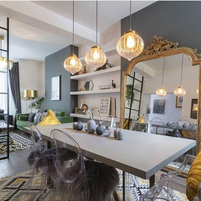 Источник фото: http://www.home-designing.com/unique-dining-room-pendant-lighting-fixtures