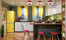 Кухня в непредсказуемом стиле поп-арт