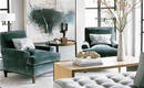 5 смелых способов визуального расширения гостиной