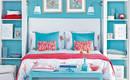 Очаровательные синие спальни: 10 интересных примеров