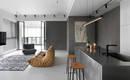 Простой и современный интерьер квартиры на Тайване
