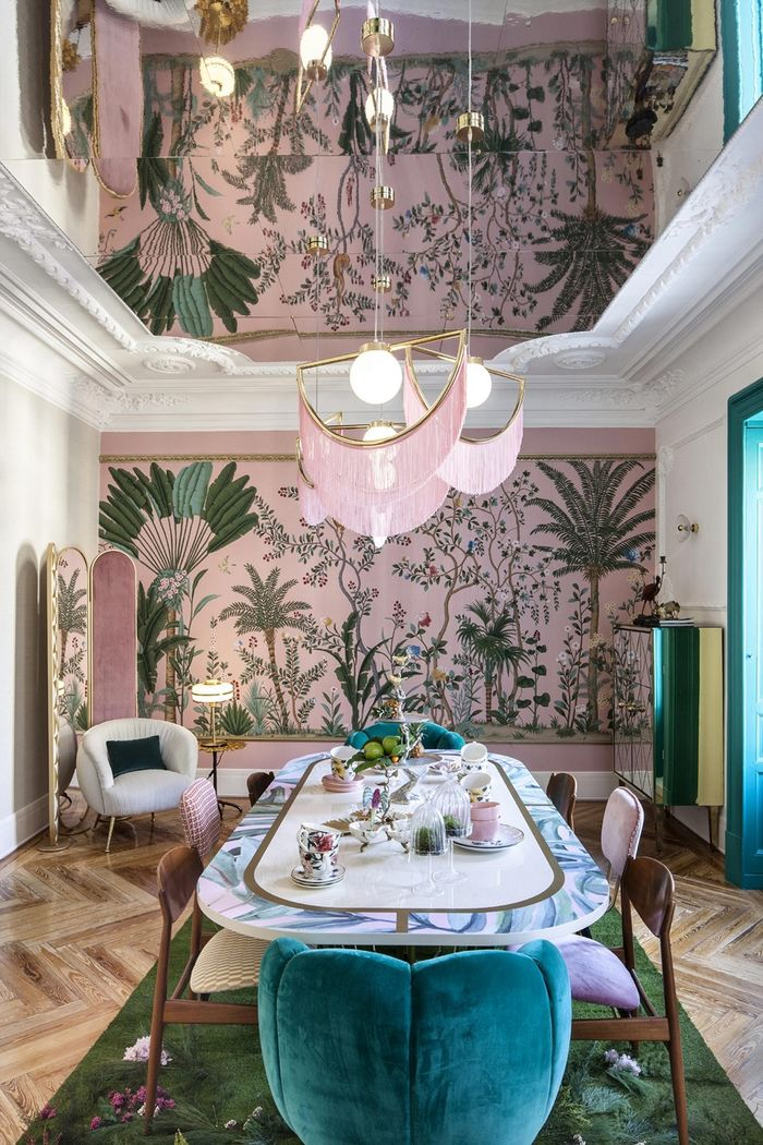 Источник фото: https://casadecor.es/decoracion/comedores/comedor-tropical-lunch/