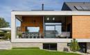 Просто и современно: швейцарский дом в двух уровнях
