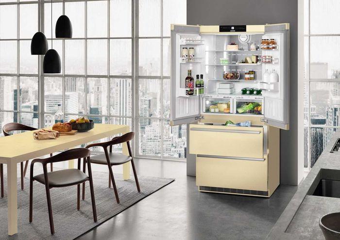 Двухкамерный холодильник Liebherr CBNbe 6256