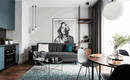 Хороший пример интерьера – невероятно стильная и уютная квартира
