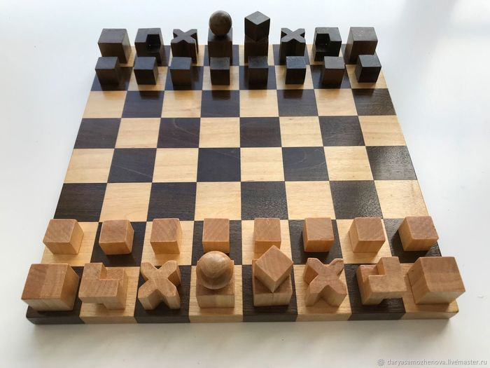 Шахматная доска от Josef Hartwig