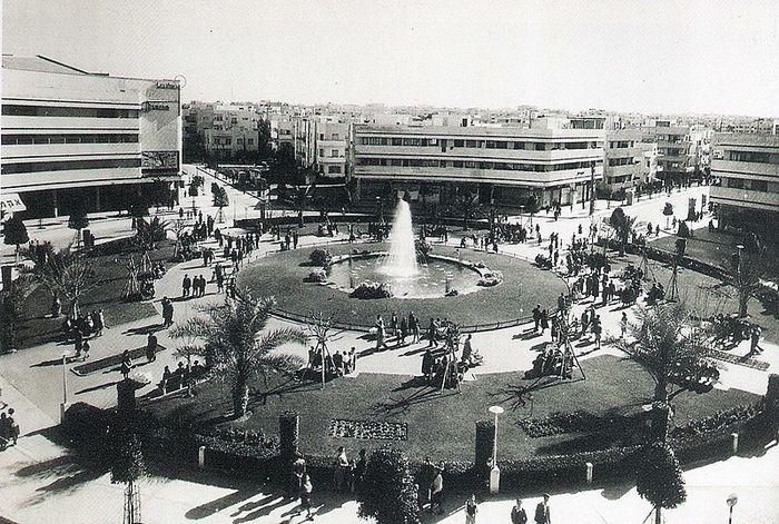 Белый город Тель-Авив
