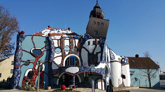 Башня Хундертвассера в Абенсберге