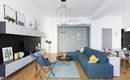 Функциональная квартира для жизни с оригинальным дизайном