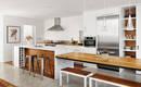 Два в одном: обеденный стол и место для готовки