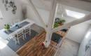 Хороший пример малобюджетной квартиры в частном доме