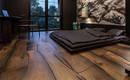 Гармония в несовершенстве! Деревянный настил - пазл в доме украинского дизайнера Сергей Махно