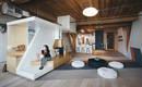 Невероятно творческая квартира-лофт для писателя и ее семьи