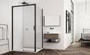 Черные душевые кабины – способ элегантного обустройства ванной