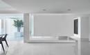 Роскошный минималистский дом с белыми интерьерами