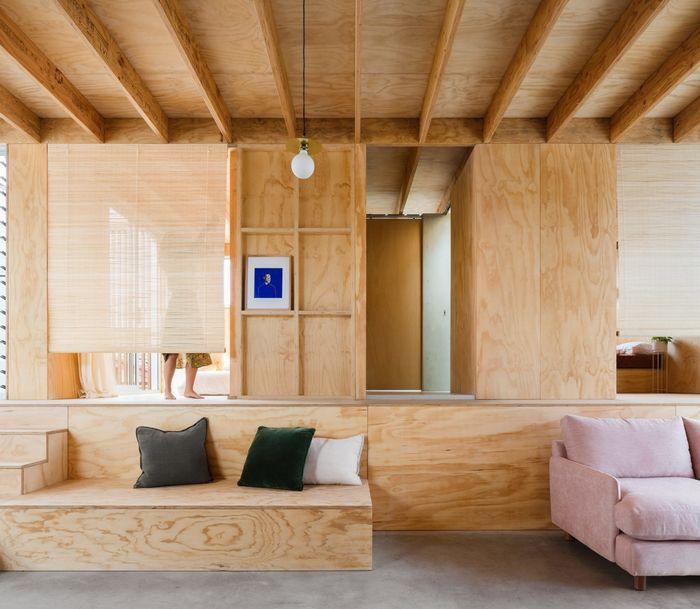 Дом с секретом: простота, удобство и игра. Фото: Katherine Lu