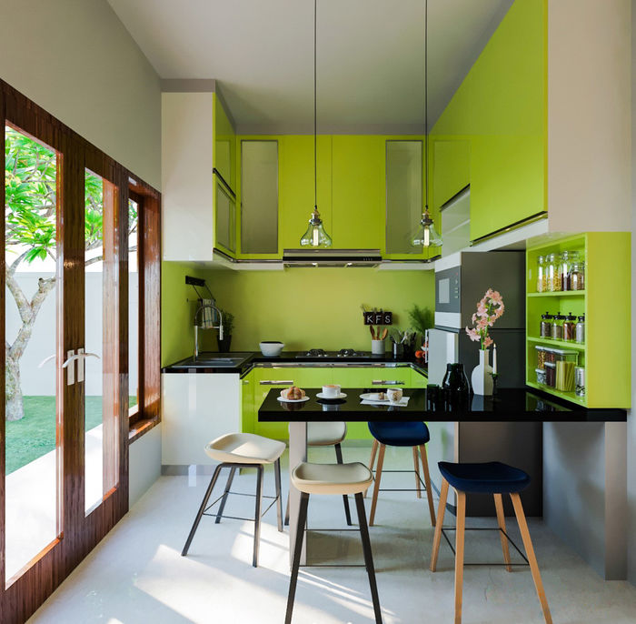 Визуализация: Eka Adnyana Putra. 5 важных моментов в создании кухни своей мечты