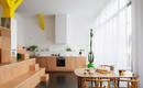 Небольшая французская квартира без стен